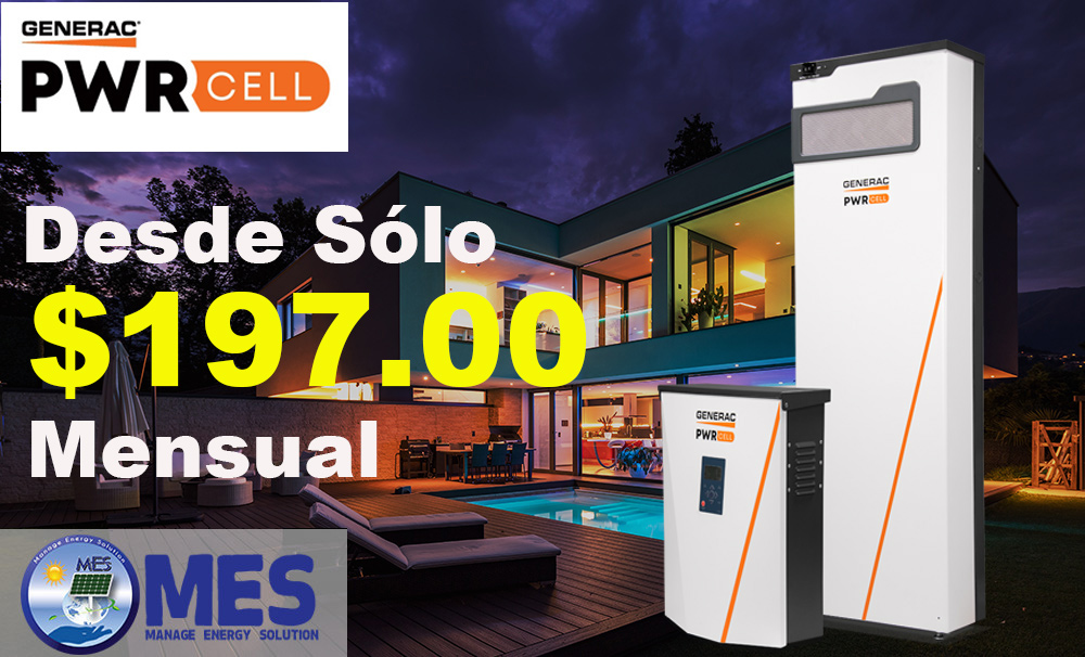 Generac Power Cell - MES Corp