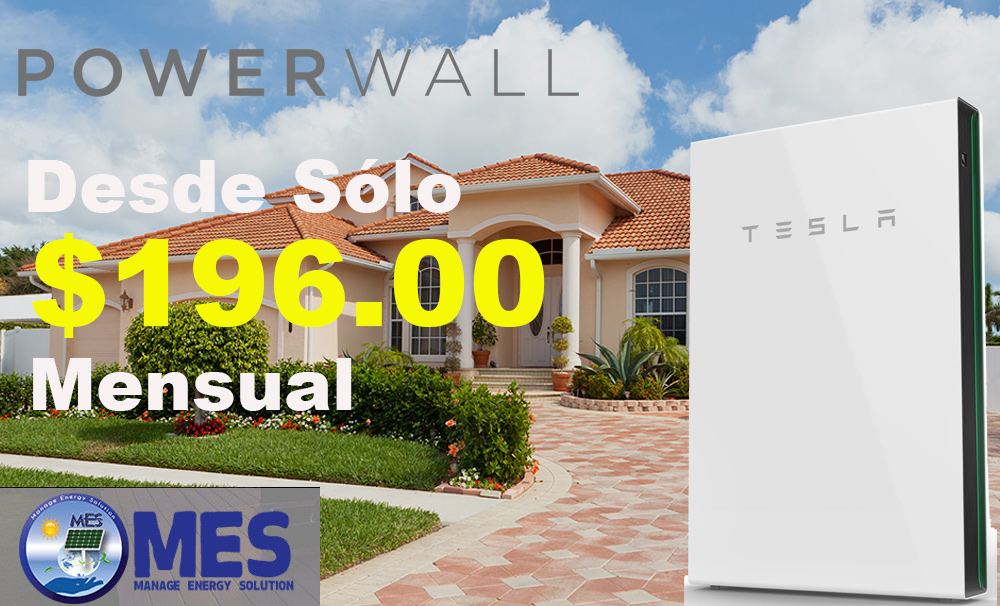 Tesla Power Wall - MES Corp.